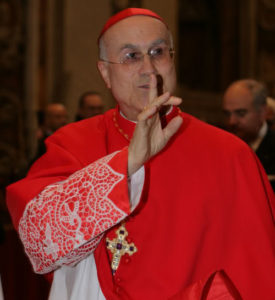 Cardinal Bertone, Secretary of State under Pope Benedict