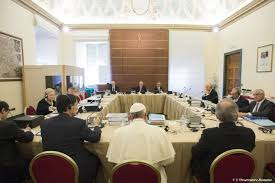 Pope addresses his financial advisers